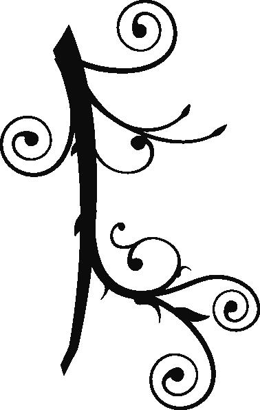 Tribal Vine Clip Art