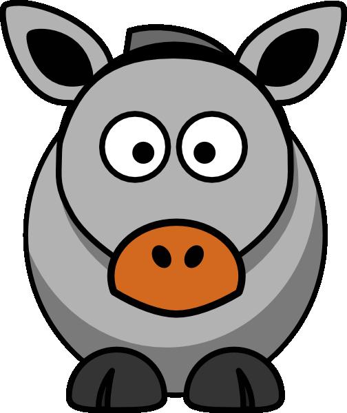 Donkey Clip Art at Clker.com - vector clip art online, royalty free ...