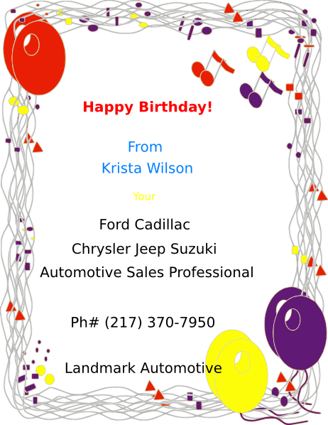 Krista s happy birthday clip art at clker vector clip art download this image as m4hsunfo Images