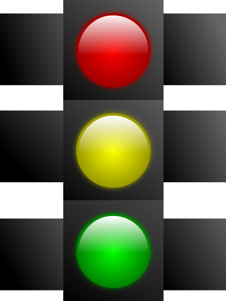 clipart traffic light green - photo #45