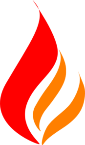 Red Flame Red Orange Clip Art