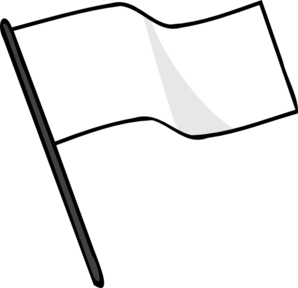 White Flag Clip Art at Clker.com - vector clip art online ...