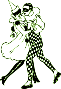 Dance Mod Green Clip Art