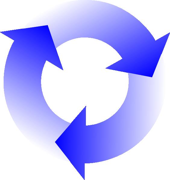 free clipart circular arrow - photo #15
