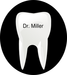 Tooth Name Tag Clip Art