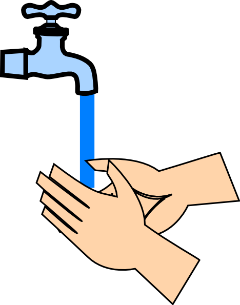 Rinsing Hands Clip Art at Clker.com - vector clip art ...