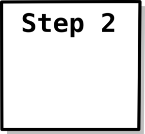 Step 2 Box Clip Art