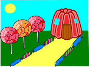 Candy-land  Clip Art