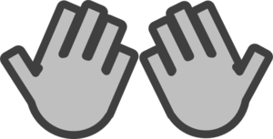 Praying Hands Icon Clip Art