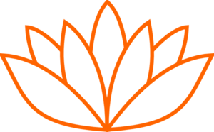 Red Orange Lotus Flower Picture Clip Art