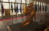 The Bronze Statue, Depicting The Bond Between Navy Hospital Corpsmen And U.s. Marines, Stands In The Main Lobby At The National Naval Medical Center In Bethesda, Maryland. Clip Art