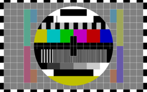 Tv Test Screen Clip Art