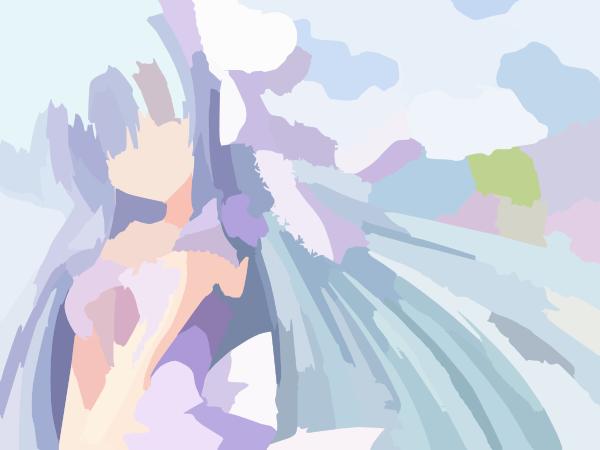 adorable anime girl anime clip art at clkercom vector