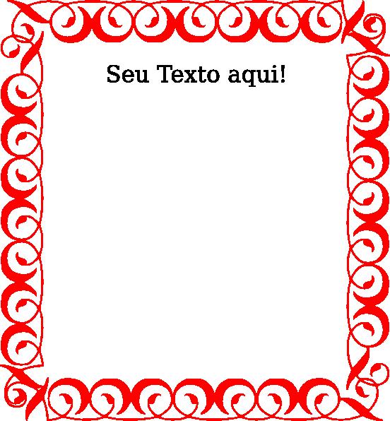 Bordas   Texto Clip Art