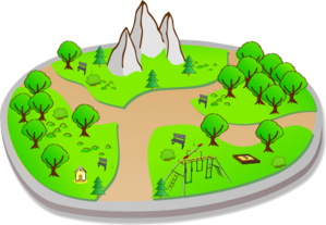 Country Park Clip Art
