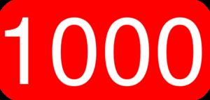 1000 free