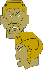 Emperror And The Queen Clip Art