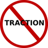 No Traction Clip Art