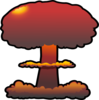 Nuclear Explosions Clip Art
