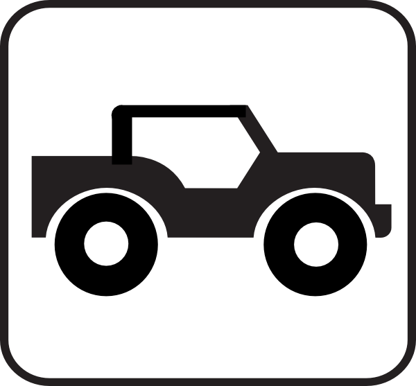 Jeep With Roof Clip Art At Clker Com Vector Clip Art