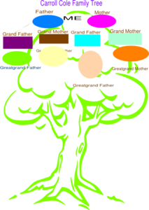 Cole Tree Clip Art