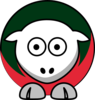 Sheep Milwaukee Bucks Team Colors Clip Art