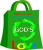 Recycle God S Love Clip Art