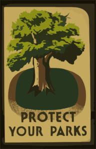 Protect Your Parks Clip Art