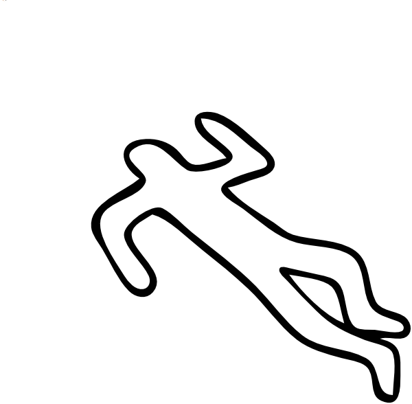 Dead Person Outline Drawing Free Download Playapk Co