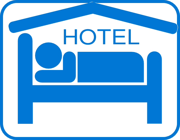 hotel sleeping accomodation clip art black white clip art at clker rh clker com hotel clipart clipart hotel