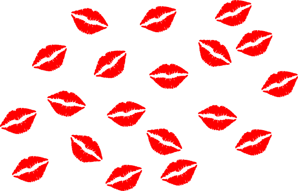 Red Lips Vector Clip Art At Clker.com