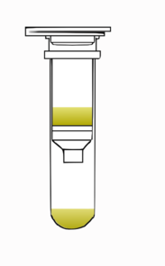 Spin Column Closed With Solution2 Clip Art