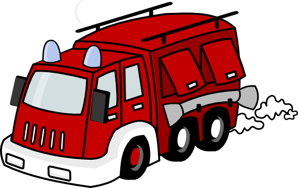 Red Firetruck Clip Art at Clker.com - vector clip art online, royalty ...
