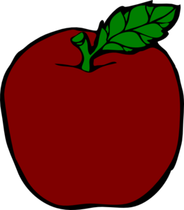 Ruby Apple Clip Art