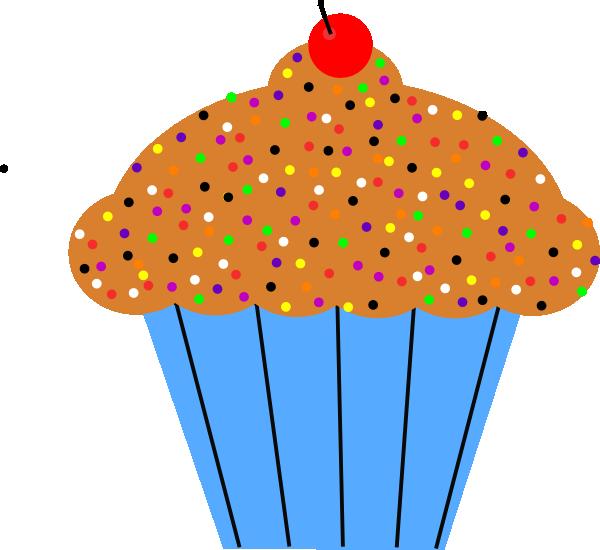 Clipart De Cupcake : Cupcake Clip Art at Clker.com - vector clip art online ...