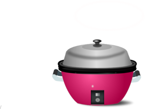Electric Rice Cook Clip Art
