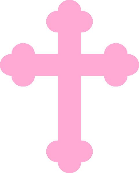 Pink Baby Crossy Clip Art at Clker.com - vector clip art ...