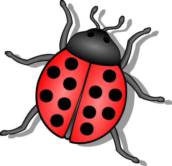 lady bug clip art at clker com vector clip art online royalty rh clker com beetle clipart black and white beetle clipart black and white