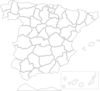 Map Of Spain Clip Art
