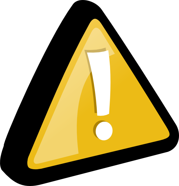Attention Yellow Clip Art at Clker.com - vector clip art online ...