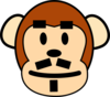 Father Monkey Clip Art