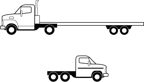 Roll Off Truck Drawing Rollback Truck Drawings