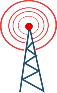 Radio Tower Clip Art