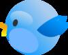 Cutie Twitter Bird Clip Art