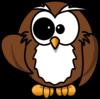 Geek Owl Clip Art at Clker.com - vector clip art online ...