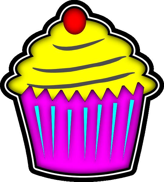 cupcake clip art at clker com vector clip art online royalty free rh clker com cupcake images clipart birthday cupcake clipart images