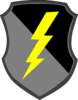 Lightning Bolt Shield Clip Art