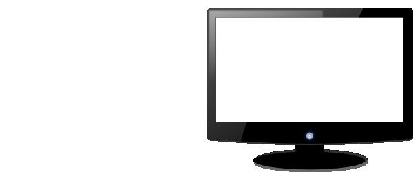 computer monitor clip art at clker com vector clip art online rh clker com old computer screen clipart Screen Clip Art