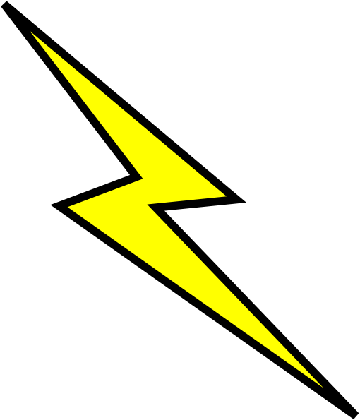 lightning bolt clip art at clker com vector clip art online rh clker com lightning bolt clip art black and white lightening bolt clip art vectorized