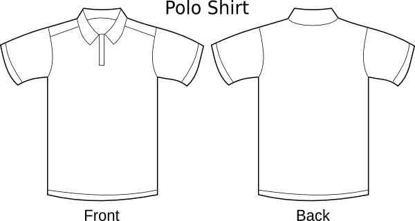 Polo T-shirt Temp Clip Art at Clker.com - vector clip art online ...